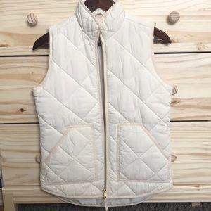 NWOT J. Crew quilted vest